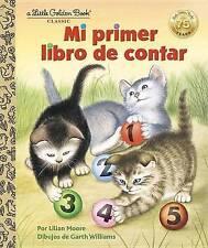 LGB Little Golden Book Mi primer libro de contar Spanish by Lilian Moore New