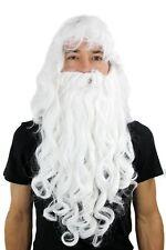 Perruque & Barbe Père Noël Magicien Dumbledore Perruque Carnaval Perruque