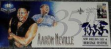 Aaron Neville New Orleans JazzFest Commemorative Cachet Envelope 2004 MINT