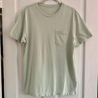 J Crew Mercantile Slim Cut Broken In Mint Green Tshirt L