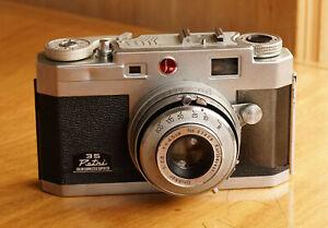 Petri 35 Color Corrected Super 2.8 35mm Film Camera Kuribayashi Lens