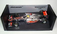 F1 McLaren Mercedes MP4-26 2011 #3 Vodafone Hamilton Minichamps 530111803 1:18