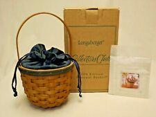 Longaberger 2004 Collector's Club Renewal Basket Combo in Original Box