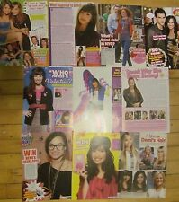 Demi Lovato, Lot of TEN Full Page Clippings