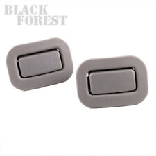 Grey - Rear Seat Recliner Button- LH+RH For Subaru Forester 2009 10 11 12 13