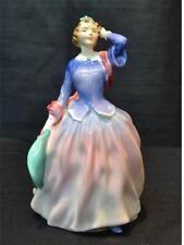 "Royal Doulton Figurine ""Blithe Morning"" 7 1/2"" Tall"