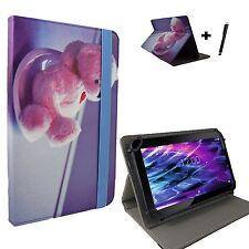 10.1 zoll Motiv Tablet Tasche Hülle Case - Acer Iconia Tab A200 - Bär Love 10