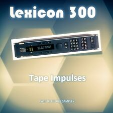LEXICON 300 IMPULSE RESPONSES RECORDED ON TAPE (STUDER A80)