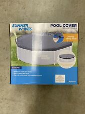 NEW Polygroup® Summer Waves Swimming Pool Cover, 8 - 10 ft