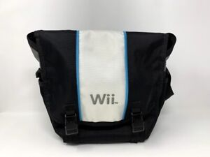 Nintendo Wii Messenger Carry Bag Black & White