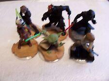 Disney Infinity StarWars Figures (Yoda, Darth Maul And More)  . Lot #z17