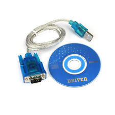 USB to RS232 DB9 Serial COM Convertors Adapters Support PLC for Computer Desktop