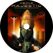 Above Majestic (2018) Alien Conspiracy Documentary Dvd