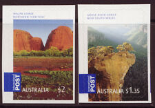 AUSTRALIA 2008 GORGEOUS AUSTRALIA S/AD 2 INTERNATIONAL STAMPS UNMOUNTED MINT,
