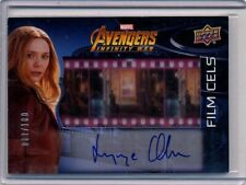 2018 Marvel Avengers Infinity War Film Cel 87/100 Elizabeth Olsen Auto Autograph