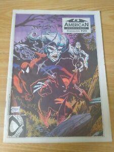 American Entertainment Catalog #20 Todd McFarlane Spiderman #10 Comic Preview VF