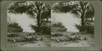 The price of victory. Brave lads who fell in raid on Hun lines - WW1 Stereoview