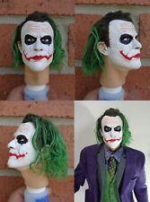 1/4 Scale figure custom The Joker head sculpt Hot Toys Enterbay compatible H10