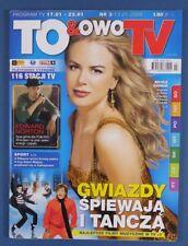NICOLE KIDMAN mag.2009 Poland Edward Norton,John Travolta,Jessica Alba,Rihanna