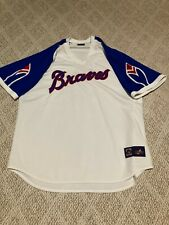 Atlanta Braves Jersey  - Vintage Cooperstown Collection by Majestic - 2XL