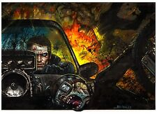 MAD MAX Fury Road by Simon Bisley Original Art - Published