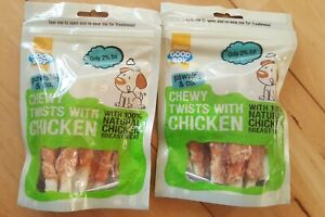 Good Boy - Chewy Twists with Chicken - Treats - x2 packs - Joblot