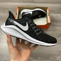 WOMENS NIKE AIR ZOOM VOMERO 14 BLACK RUNNING TRAINERS SIZE UK7.5 US10 EUR42