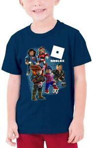 Roblox Soccer Boys T-Shirt - Navy - 100% Cotton