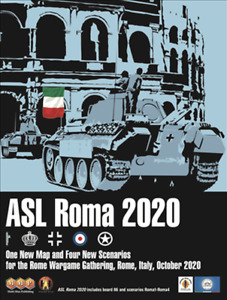 ASL Roma 2020 Scenario Pack Advanced Squad Leader MMP NISW Fast Shipping