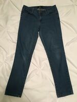 FOREVER 21 Juniors Cotton Blend Stretch Skinny Blue Denim Jeans - Size 26