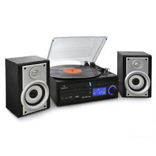 (B-WARE) HIFI STEREO ANLAGE SCHALL PLATTEN SPIELER USB SD CD MP3 PLAYER