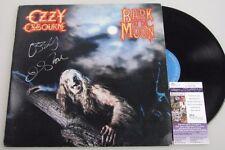 "OZZY OSBOURNE Hand Signed LP + JSA COA  Black Sabbath  'BUY GENUINE"""