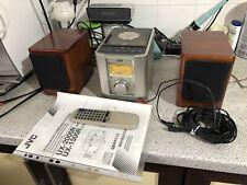 JVC UX-2000 Stereoanlage mit Anleitung, Fernbedienung, Boxen Top.