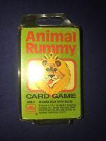 Animal Rummy Cards, Golden, MIB, 1988, Western Publishing, 4908-2
