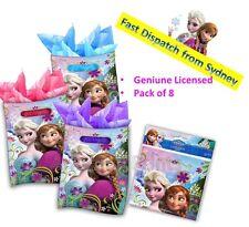 8 Disney Frozen Party Loot toy Bag Supply Birthday Theme Elsa Lolly Treat Sweet