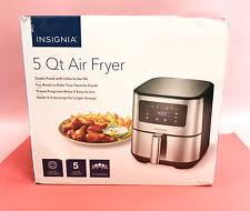 Insignia- 5 Qt Digital Air Fryer NS-AF53DSS0 - Stainless Steel  #U0125