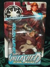 STAR WARS UNLEASHED SERIES ROTS JEDI MASTER OBI WAN KENOBI MUSTAFAR FIGURE