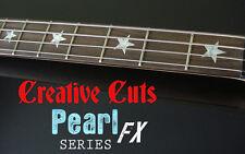 Stars MOP Fretboard Markers Vinyl Inlay Star Sticker Decals for Fender P BASS