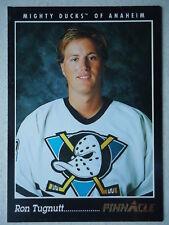 NHL 187 Ron Tugnutt Mighty Ducks of Anaheim Pinnacle 1993/94