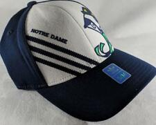 LZ Adidas Adult Fitted S/M Notre Dame Fighting Irish Baseball Hat Cap NEW D43