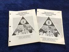 Civil Air Patrol 1980s Cadet Leadership Manuals