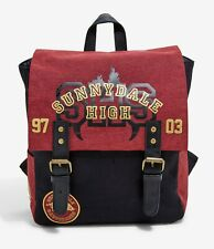 BUFFY THE VAMPIRE SLAYER Sunnydale High Mini Backpack Bag Bioworld NEW