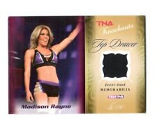 TNA Madison Rayne 2009 Knockouts TD Event Used Memorabilia Relic Card SN 39/175