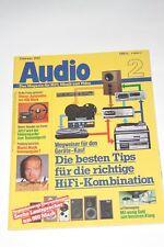 Audio 2/82 , Sony PS-X800 , Lautsprecher