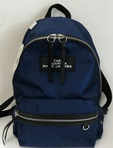 NWT!!The Marc Jacobs Large Nylon Backpack In Night Blue MSRP $195(sale)