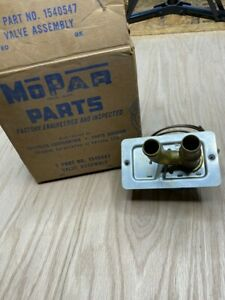 Mopar Heater Control Valve 1540547 1949-1954 most models