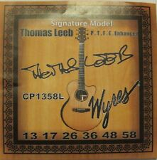 Wyres PTFE Coated HANDMADE THOMAS LEEB 13-58 Signature Acoustic Strings