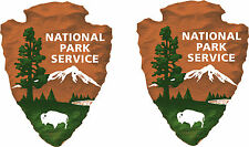 2 National Park Service decals  FREE SHIPPING