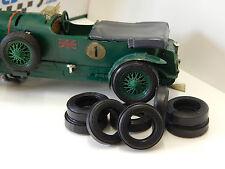 8 Reifen URETHANE  Bentley Alfa  SCALEXTRIC  DE