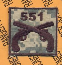 551 MP Military Police 101 Airborne HCI patch D